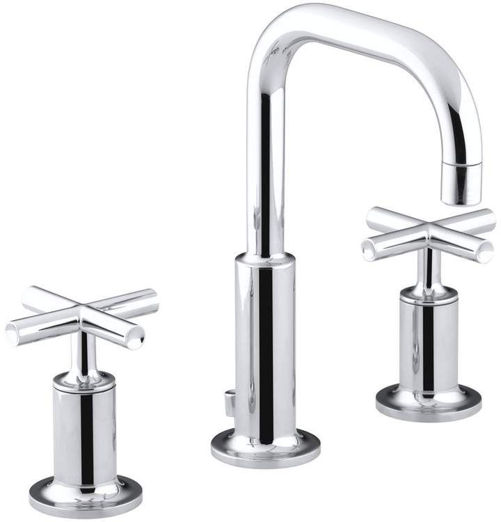 Kohler Purist Widespread Bathroom Sink Faucet With Low Cross