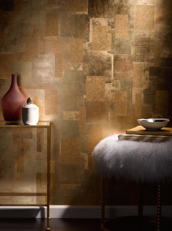 Entzuckend Create Vibrant Interiors With Shimmering Metallics | Blog | Isla U0026 Eden  Patina Farbe, Schlafzimmer