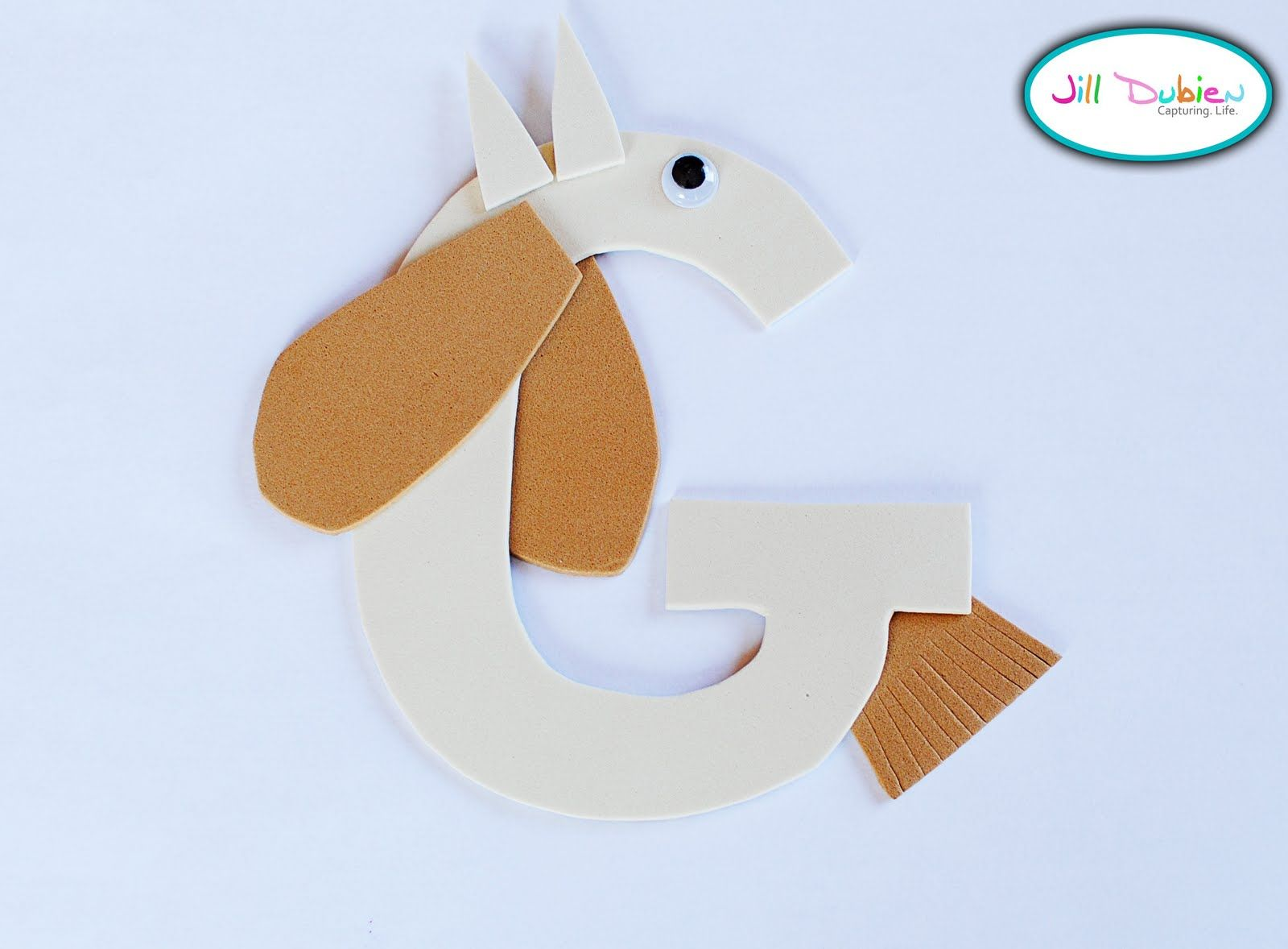 Meet The Dubiens Alphabet Craft G Is For Goat