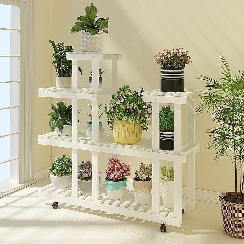Buy Flores Etagere Plante Wood Soporte Interior Estante Para