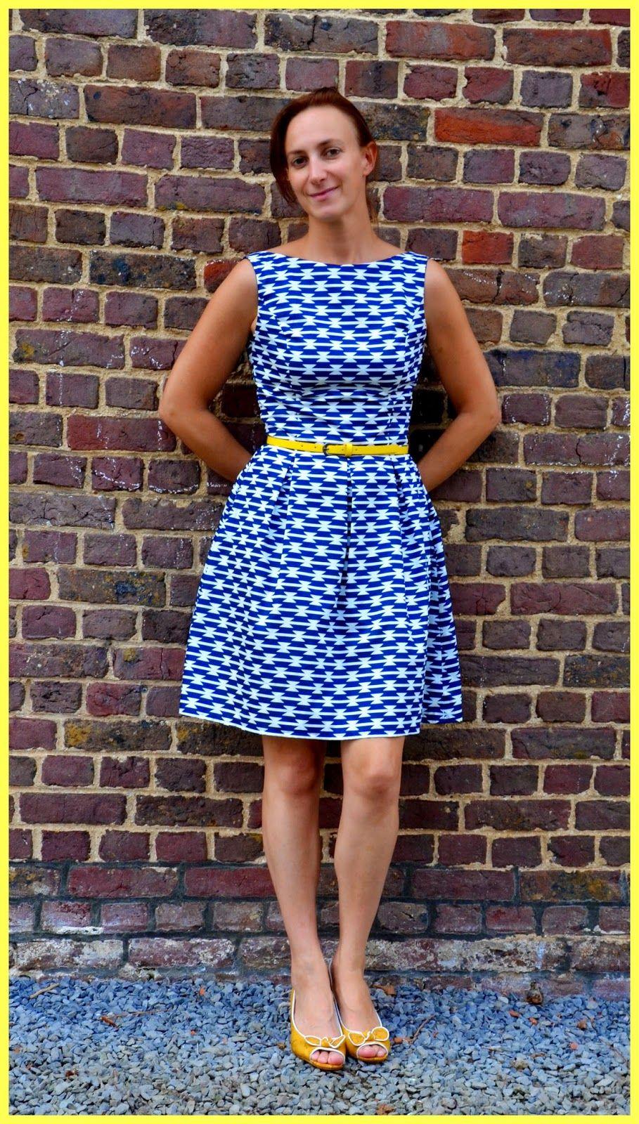 Ik maakte hier al eens een testversie van de June dress van La ...