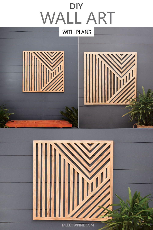 Photo of DIY Geometric Wall Art
