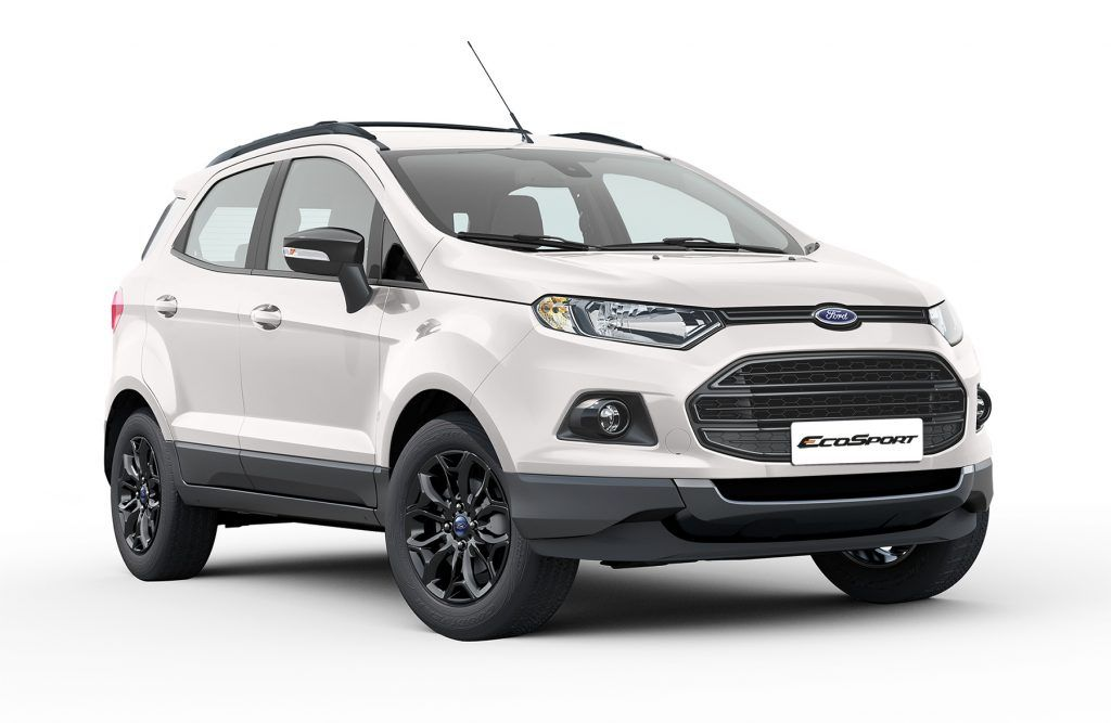 Ford Ecosport Black Edition Launched At Inr 8 58 Lakhs Ford