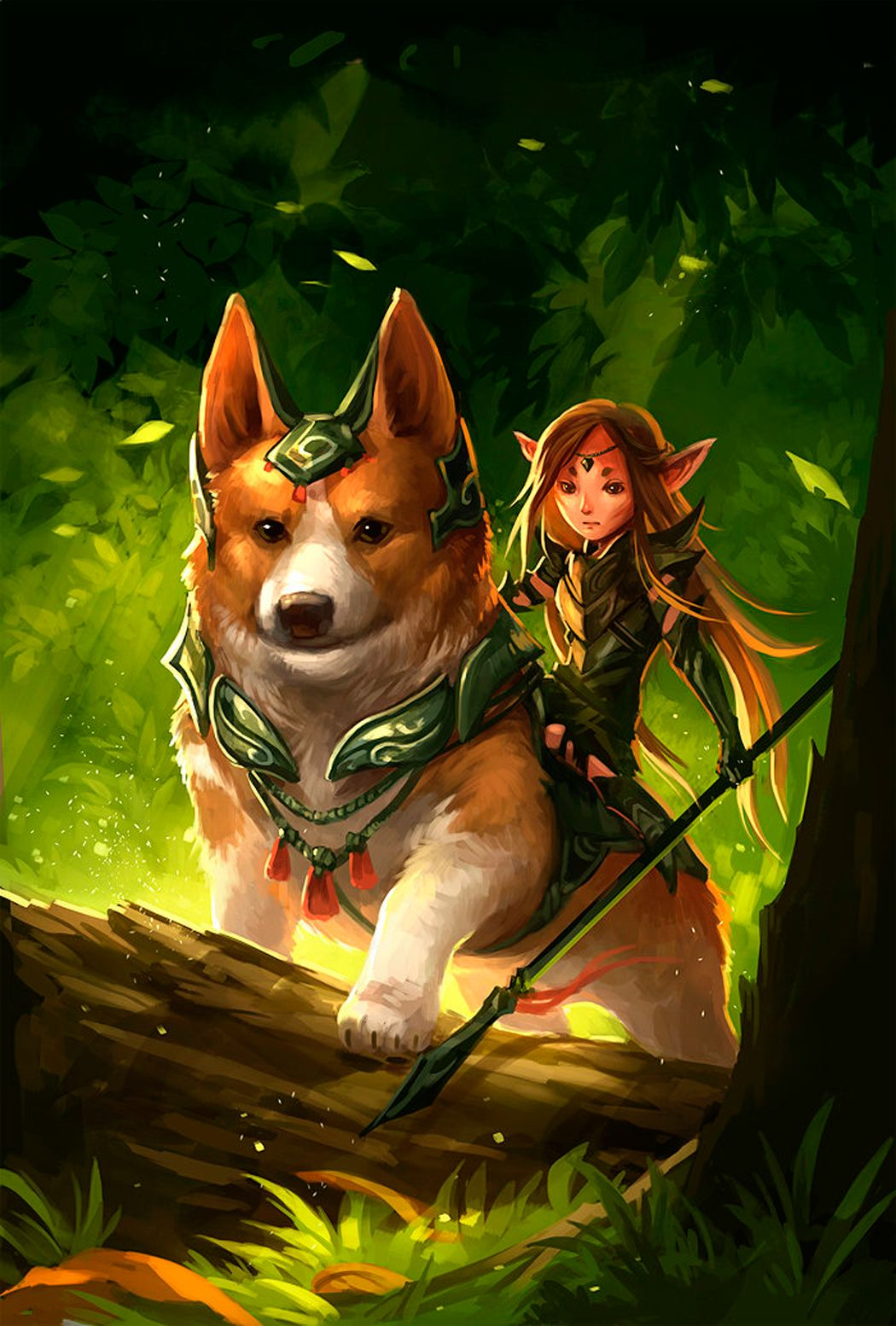 Corgi fairy mount love it corgis were the mounts of the fairies