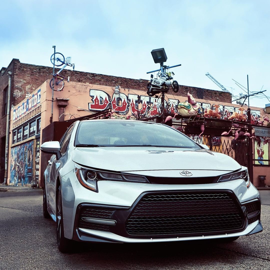 Toyota: Standout no matter where you are in the 2020 #Corolla #LetsGoPlaces… | Toyota corolla. Toyota. Toyota usa