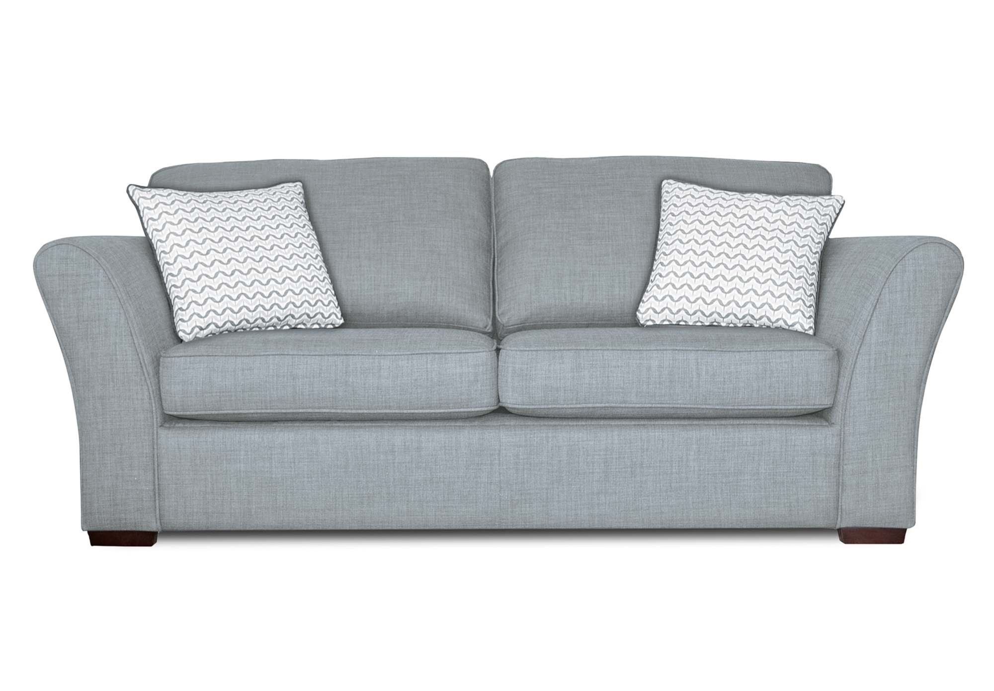 3 Seater Sofa Bed Ultra Furniture Twilight Upholstery At Village Gorgeous Living Room From