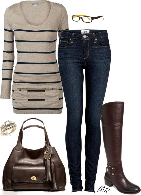 """""""What I'm Wearing - Tunic Top and Boots"""" by amy-phelps on Polyvore"""