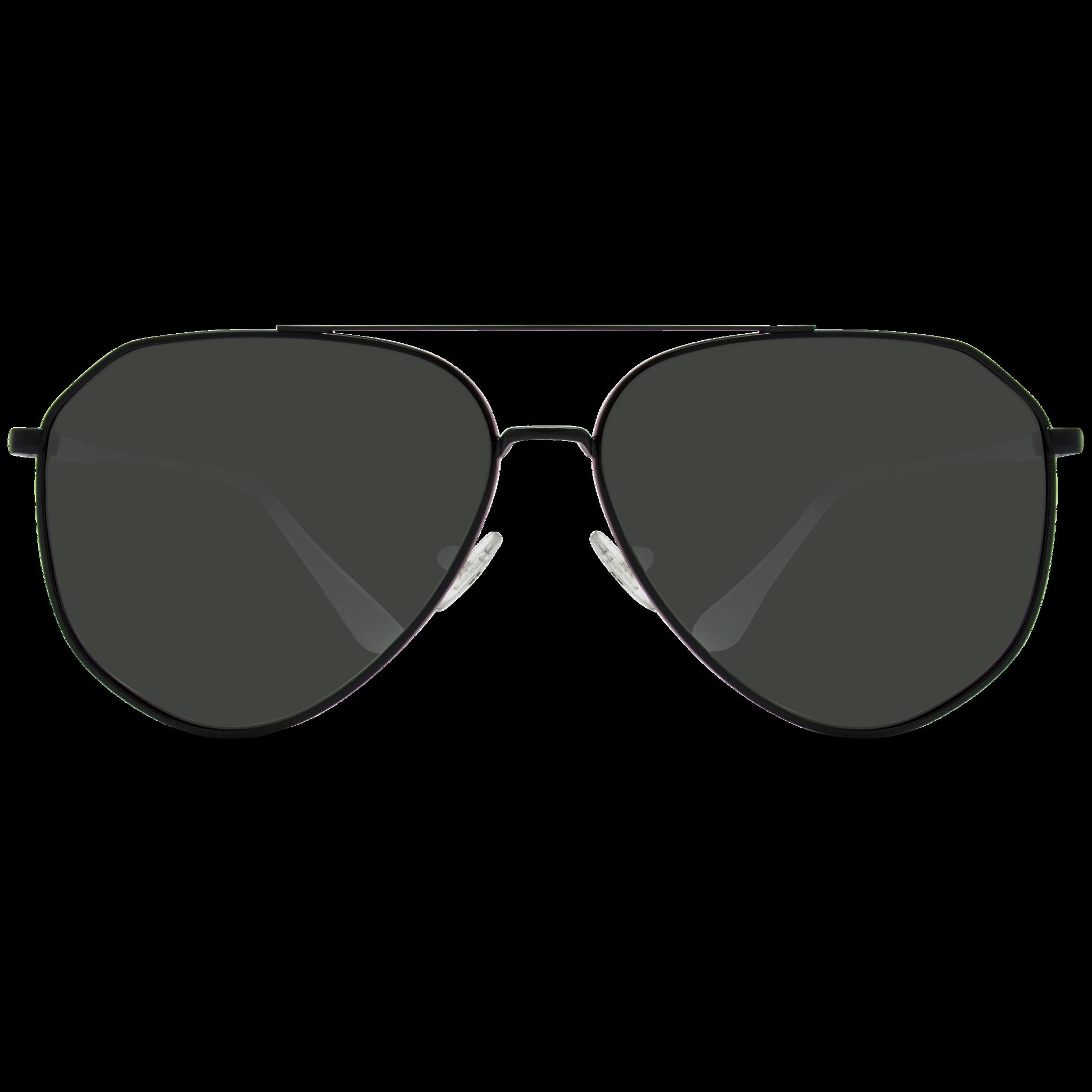 a53a54cf17d black polarized geometric aviator sunglasses for men Polarized Aviator  Sunglasses