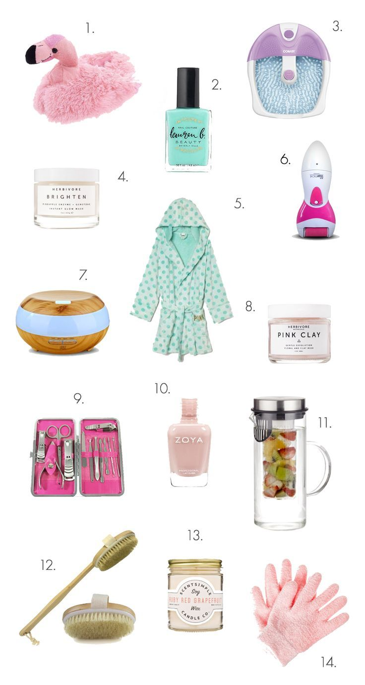 The ultimate spa night shopping list | Gift Baskets | Pinterest ...