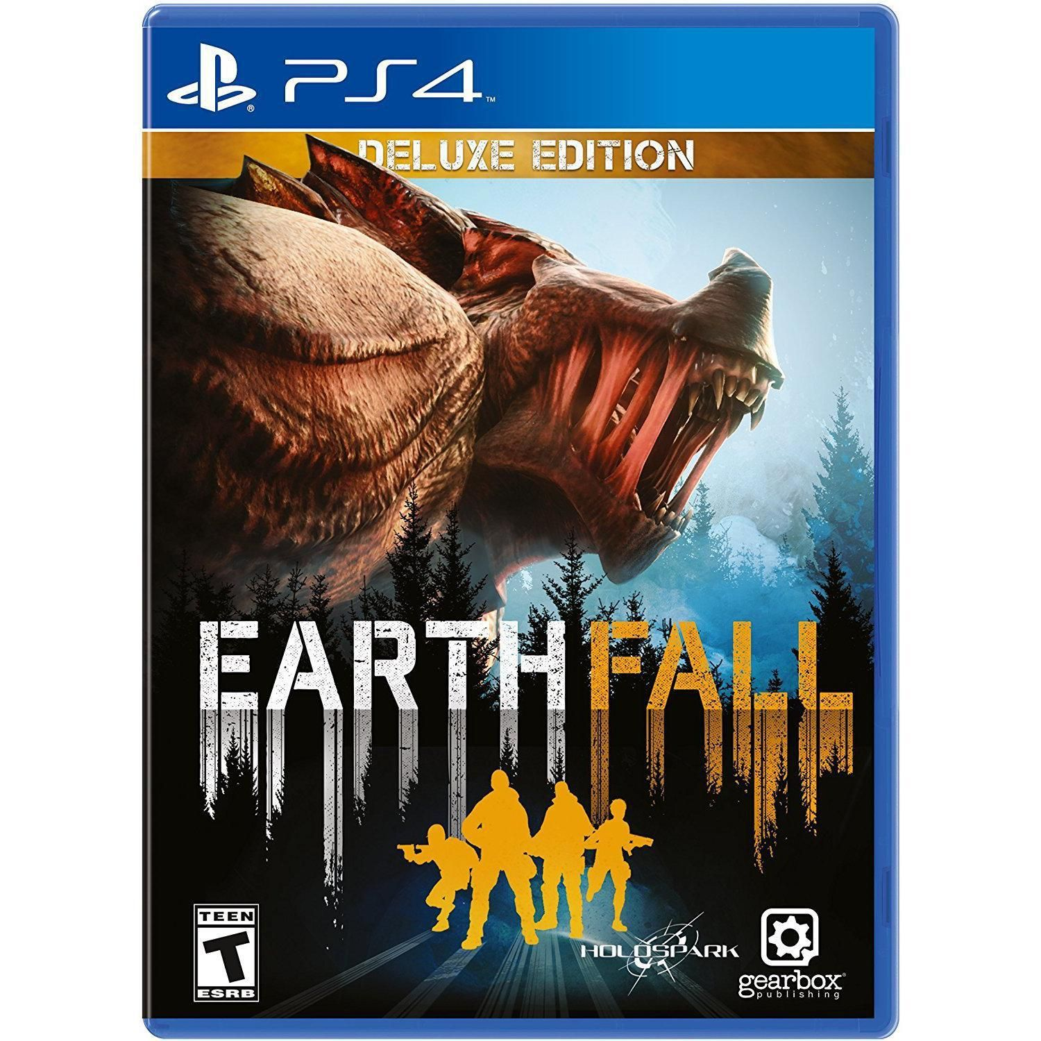 Earthfall Deluxe Edition Game for Playstation 4