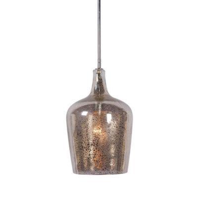 kenroy home pi 1 light pendant pendants antique mirror glass and