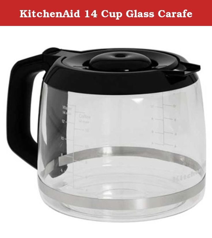 Kitchenaid 14 cup glass carafe also works with kitchenaid