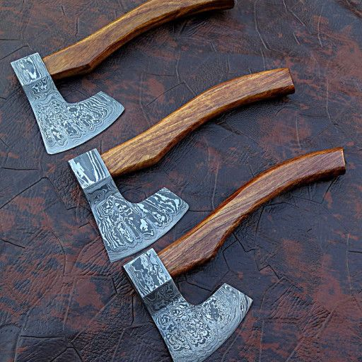 HANDMADE DAMASCUS STEEL Knife Overall Length: 14 inches ...