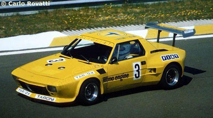 Fiat X1 9 Gr 5 Fiat Fiat X19 Sports Car Racing