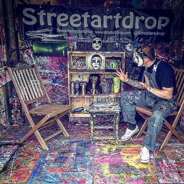 Streetdrop Art for Free