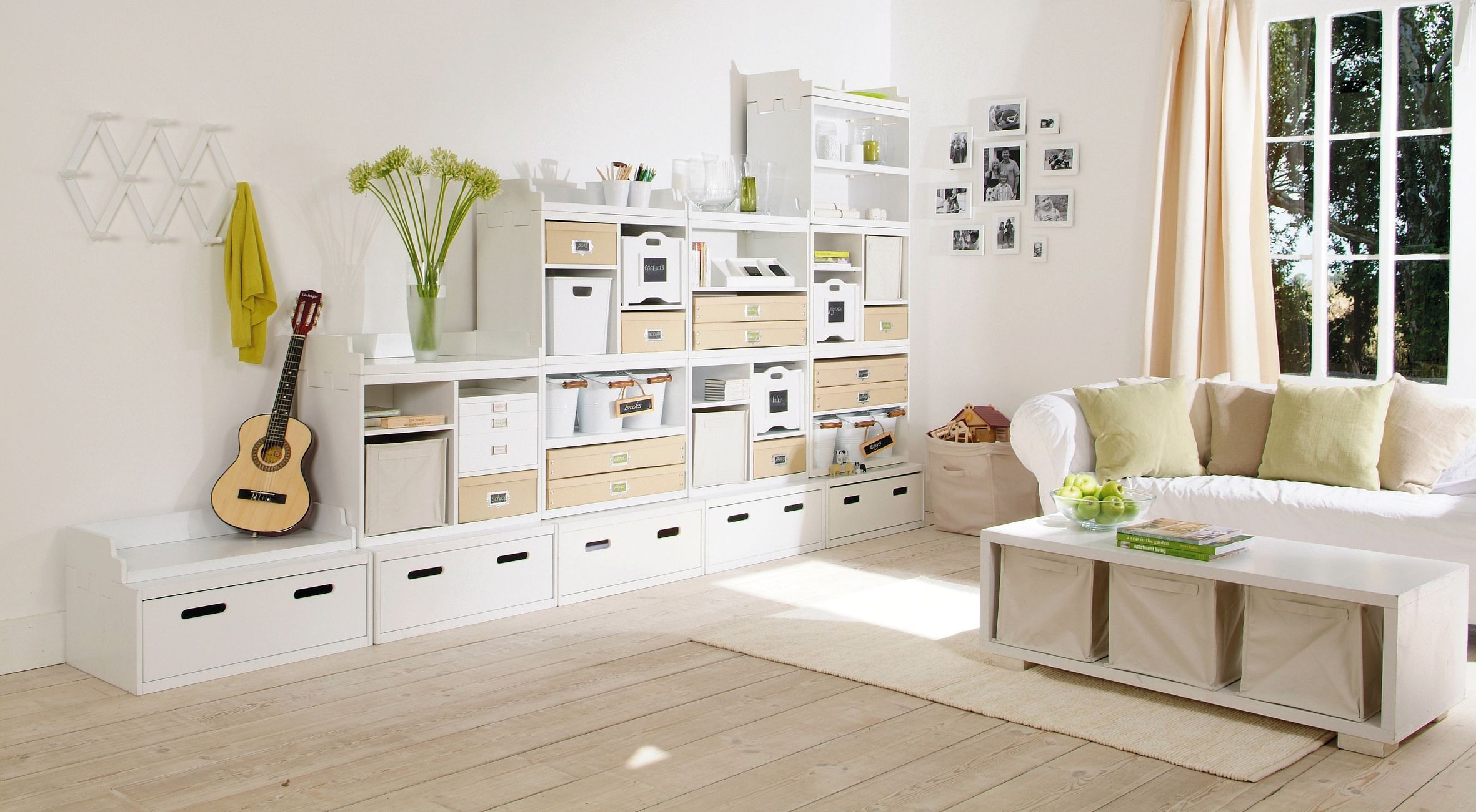 Modular Storage Toy Box incl. Ledged Shelf | Interior: Storage ...