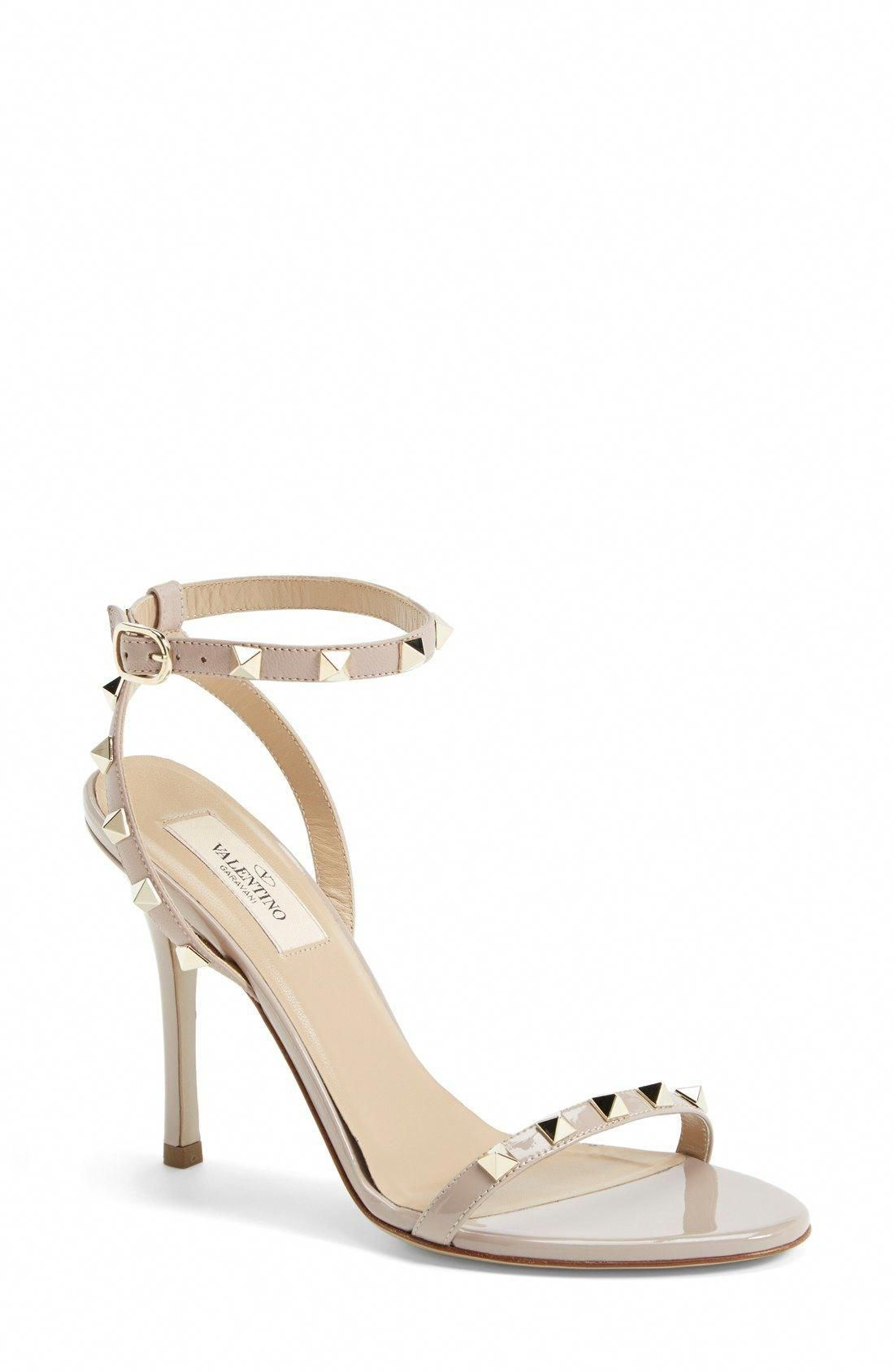 c2a26b40e638 Valentino  Rockstud  Ankle Strap Sandal (Women) available at  Nordstrom   Valentino