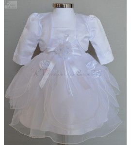 Robe ceremonie blanche 3 ans