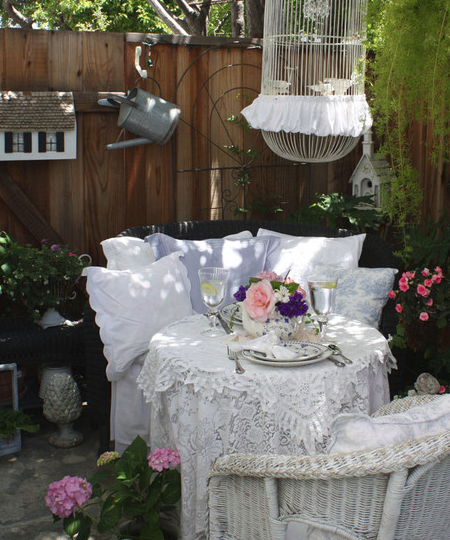 best 25  shabby chic patio ideas on pinterest