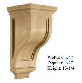 Best Heritage White Large Corbel Rta Kitchen Cabinets Rta 400 x 300