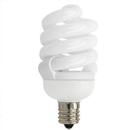Tcp 13 Watt Cfl Springlamp 2700k Candelabra Base Bulb Energy Efficient Lighting Light Bulb