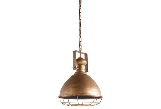 Beckley 1-Light Pendant, Metallic Gold