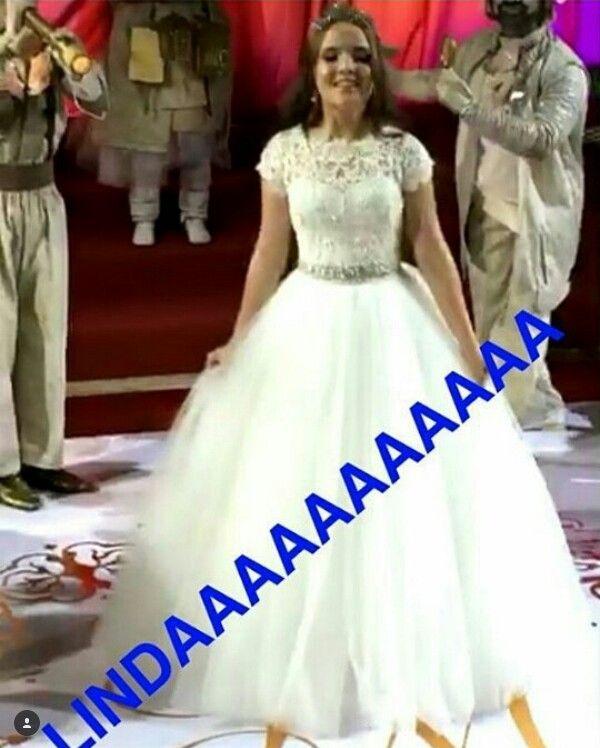 2° Vestido Da Festa De 15 Anos Da Larissa Manoela  SonhosDeLari ... ded1a52201