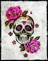 Girly Skull Wallpaper Skulls Caveira Mexicana Feminina