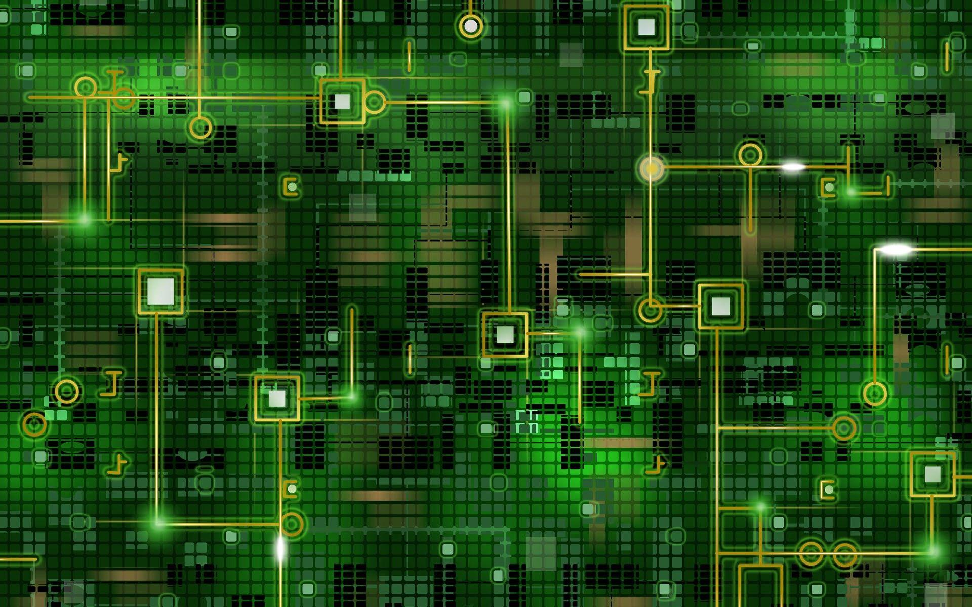 Hd wallpaper electronics - Widescreen Wallpaper Electronics Green Background Wallpapers Abstract