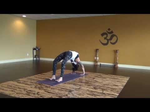 30 min creative heart opening vinyasa flow with becca