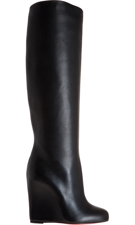 a1cfb3b0bad christian louboutin zepita wedge boots..LOVE