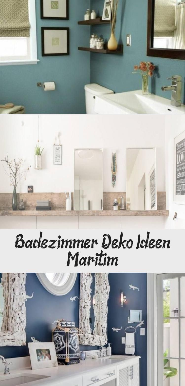 Badezimmer Deko Ideen Maritim Dekoration Badezimmer Badezimmerdekorationmaritim Deko 2020