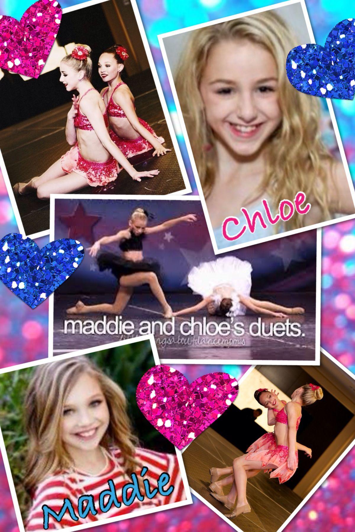 Chloe and maddie's duets! 💕 | Chloe lukasiak, Maddie ...