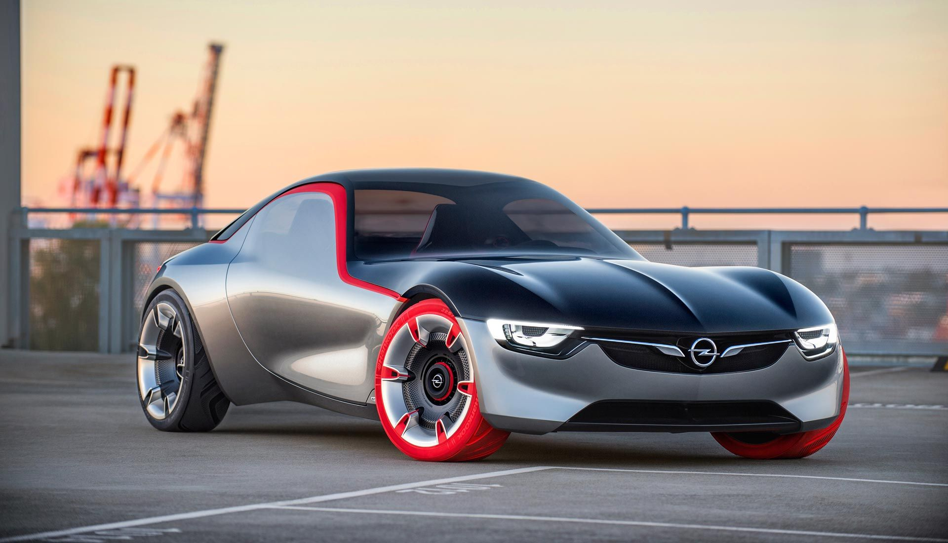 The Opel GT Concept: This is How Sportscars Will Look in Future ...