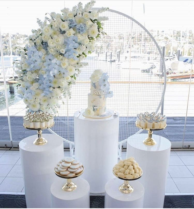 Grid Arch Flower Balloon Diy Decoration Wedding Backdrops