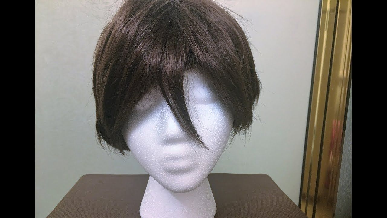 How To Make A Wig Out Of Yarn For People Or Cosplay Youtube Yarn Wig Diy Wig Wigs