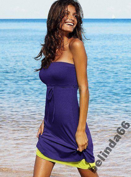 Victoria S Secret Granat Czerwien Plazowa 36 5579624469 Oficjalne Archiwum Allegro Bra Top Dress Beach Dresses Beach Dresses Summer