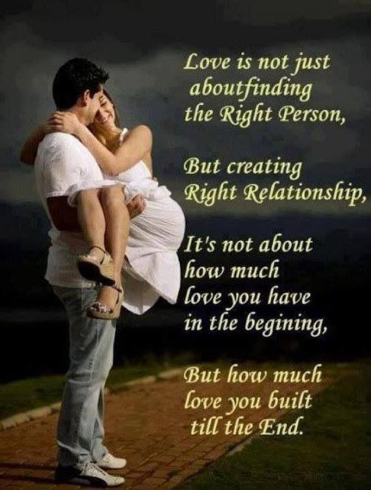 Creating the right relationship