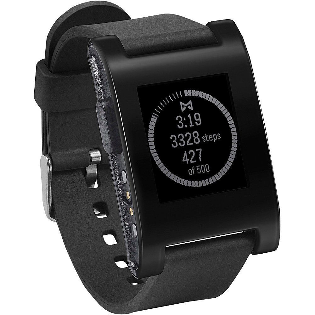 Pebble Smartwatch Black (With images) Pebble smartwatch