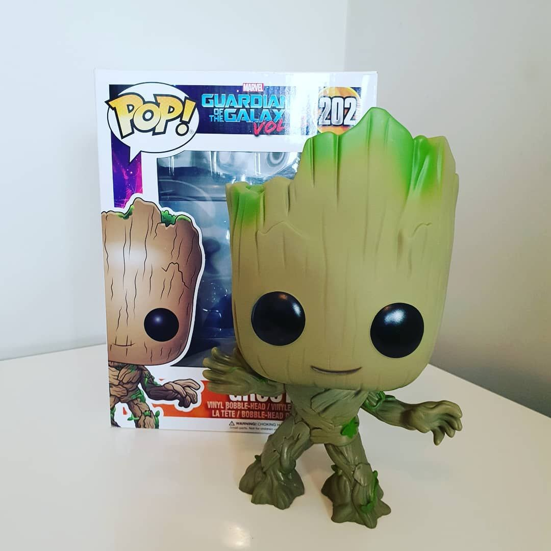 10 Groot I Picked Up From Supernova On The Weekend Love It Iamgroot Grootpop Guardiansofthegalaxy Drax Starlord Marvel Pop Vinyl Marvel Films Star Lord