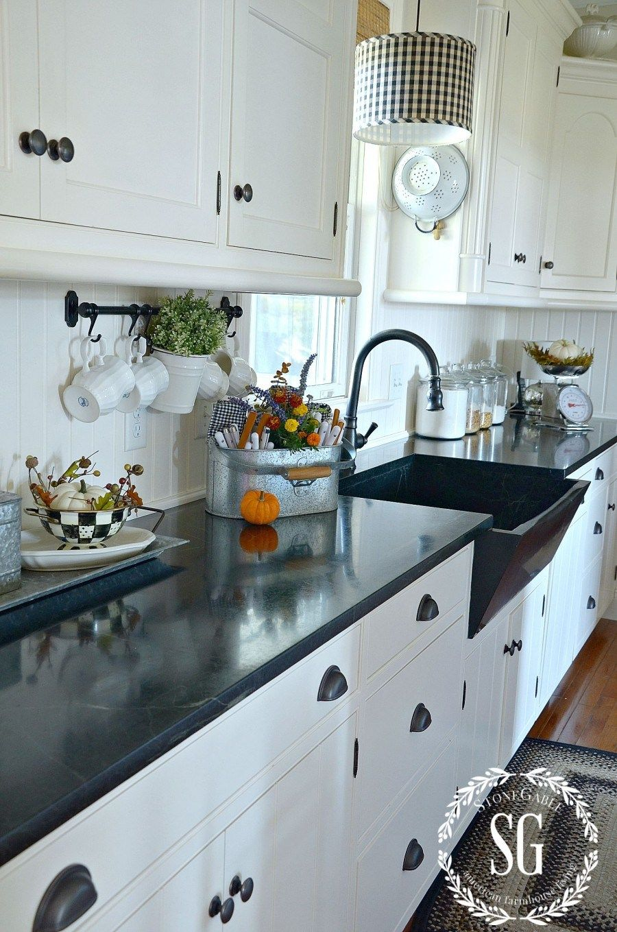 FALL HOME TOUR | Farm stand, Galley kitchens and Farmhouse style