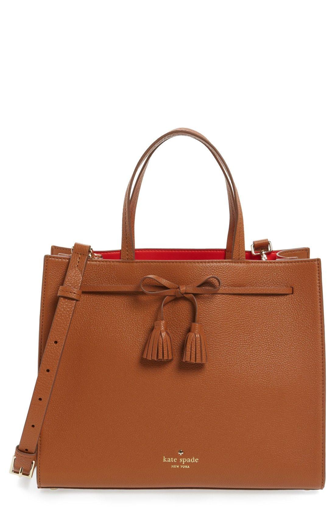 Kate Spade New York Hening Hanbags Pinterest Leather Satchel Satchels And Street