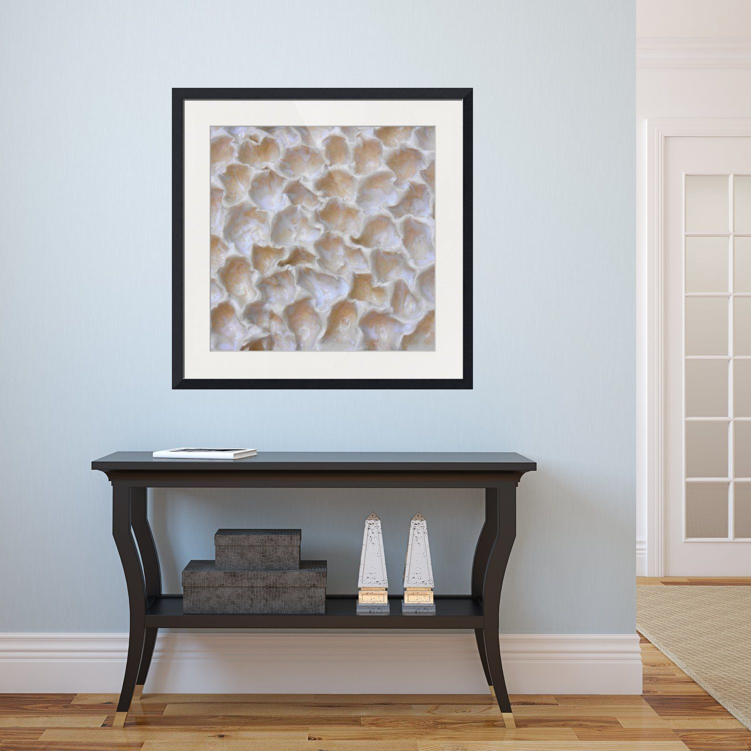 abstract framed wall art square 1