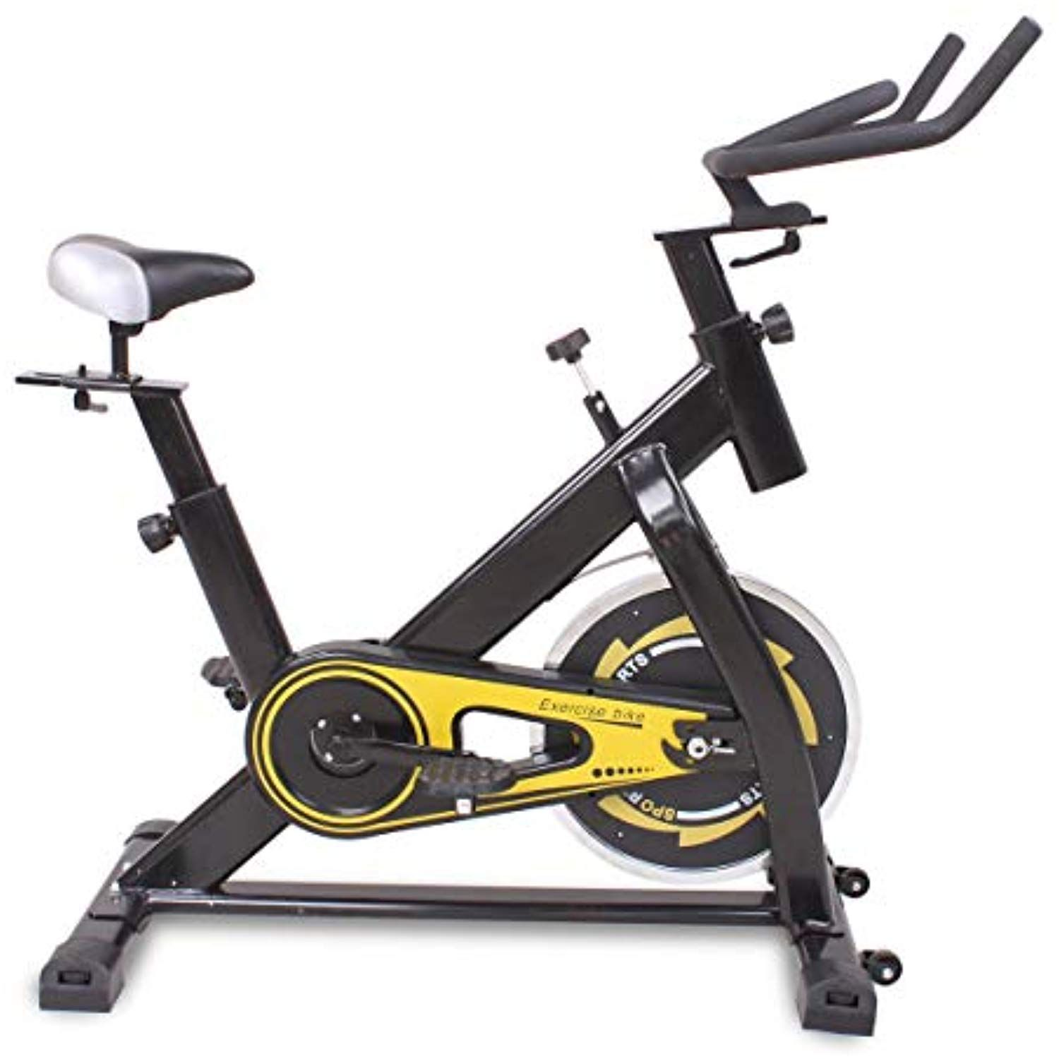 Huldaqueen Stationary Exercise Bicycle Trainer Indoor Bike Cycling