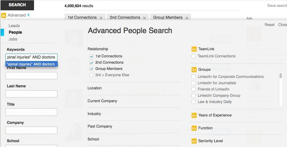 Best Linkedin Tool For Journalists Advanced People Search