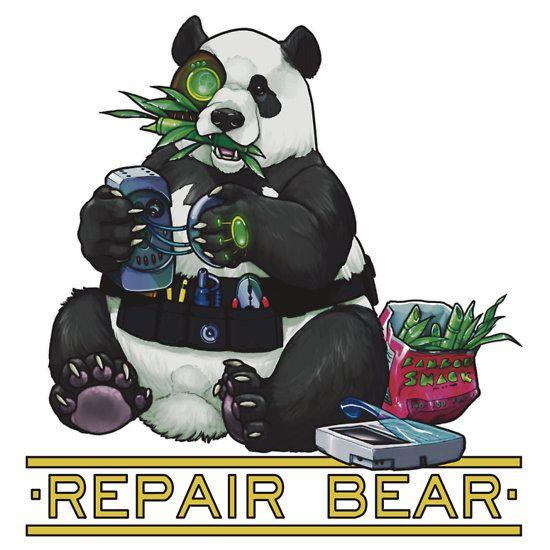 Repair Bear - Panda