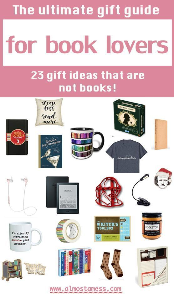 23 Gifts for book lovers that are not books