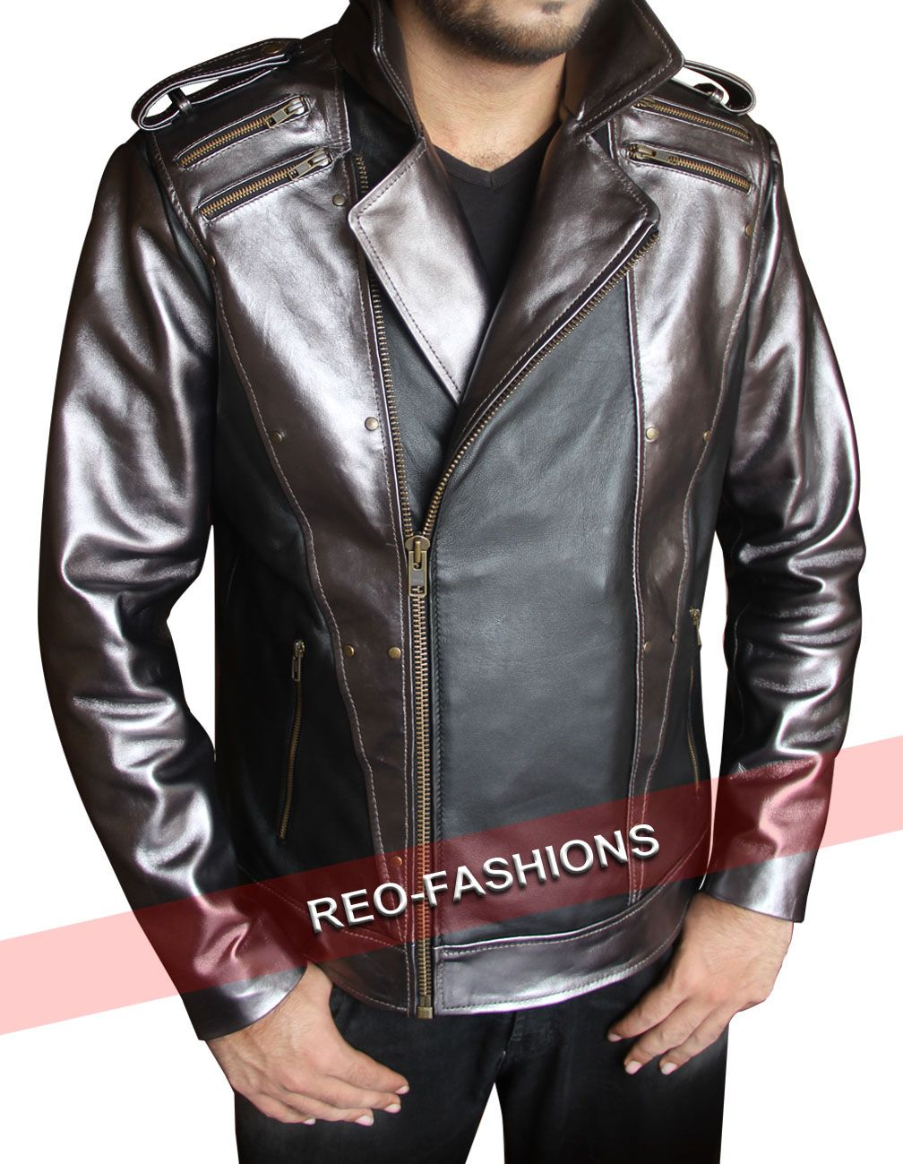 This XMen Quicksilver Leather Jacket is a choice for