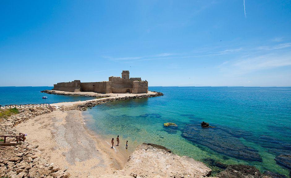 Le Castella Italy beaches, Gallipoli italy, Most