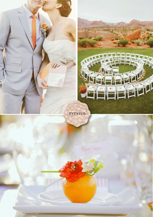 tangerina wedding inspiration